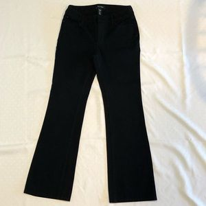 White House Black Market Black Jean Look Pant